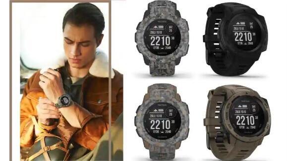 佳明推出战术版GPS智能手表Instinct 售价 为 31,990卢比