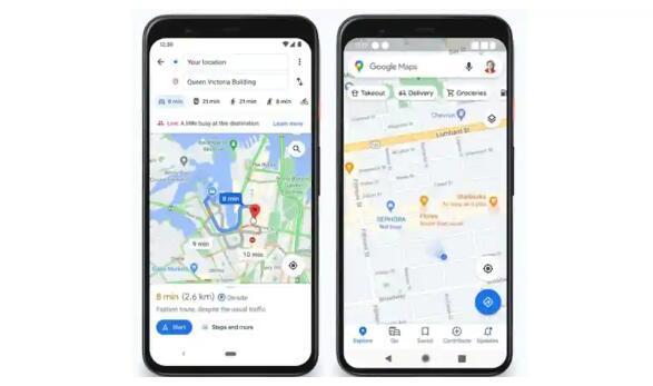 谷歌地图很快就会直接在地图上显示一个地方有多繁忙