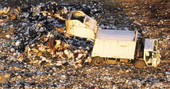 垃圾气体公司与污染作斗争并利用资本