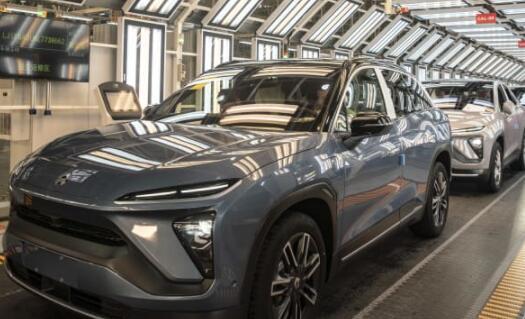 随着当地竞争加剧特斯拉中国电动汽车公司蔚来的销量在2020年翻了一番
