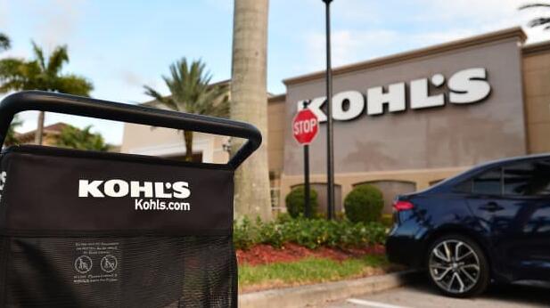 Kohl's认为假日季度收入将下降10%但表示到1月底的销售有所增长