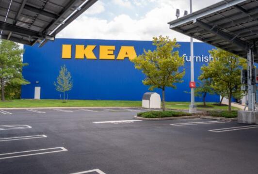 宜家在美国市场完成首个兆瓦级太阳能车棚