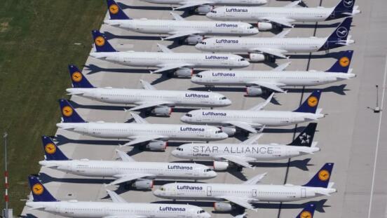 汉莎航空考虑创纪录的亏损后考虑更多的飞机退役
