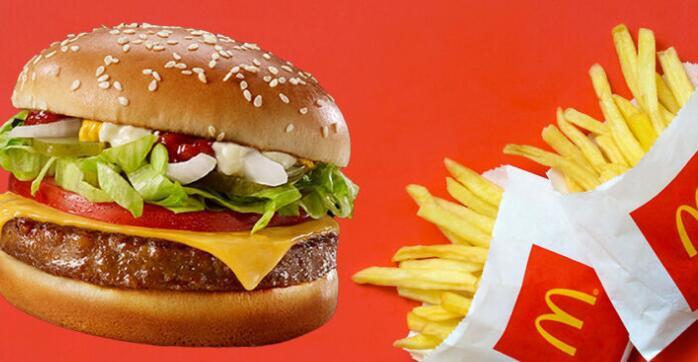 麦当劳提供的米其林星级厨师在海外提供的汉堡