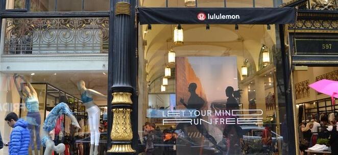 2020年Lululemon的电子商务交易量将增加一倍以上