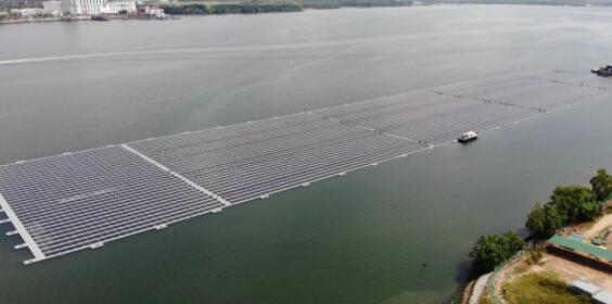 Facebook从新加坡的海上光伏电站购买电力