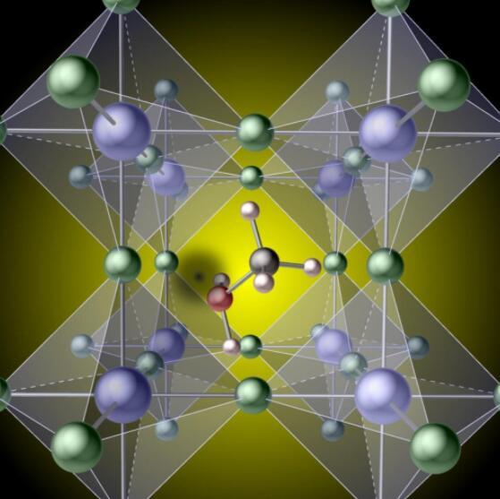 跟踪氢的钙钛矿性能