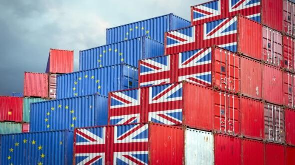 第一季度从英国的欧元区进口下降超过三分之一