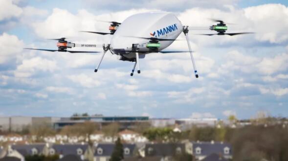 Manna Aero获得IAA的操作员证书