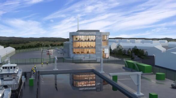 苏格兰和南方能源公司可再生能源公司公布了在阿克洛港新建设施的计划