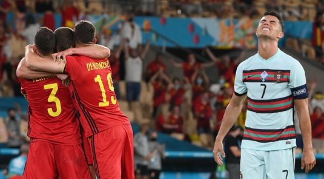 在输给比利时之后 葡萄牙退出了2020欧洲杯