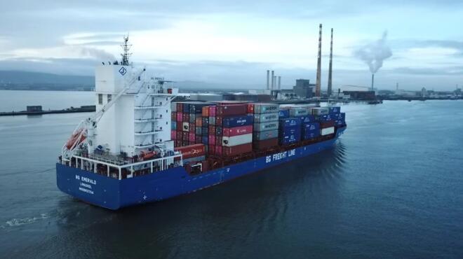 尽管英国脱欧和大流行 都柏林港的第二季度货运量强劲复苏