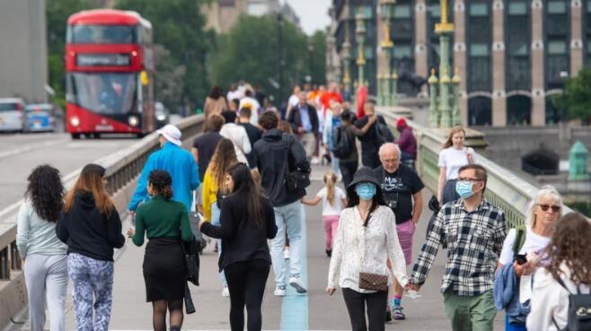 7月英国经济因当前局势变种的蔓延而放缓