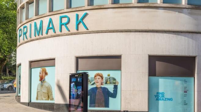 受当前局势影响 Primark在最近一个季度的销售额低于预期