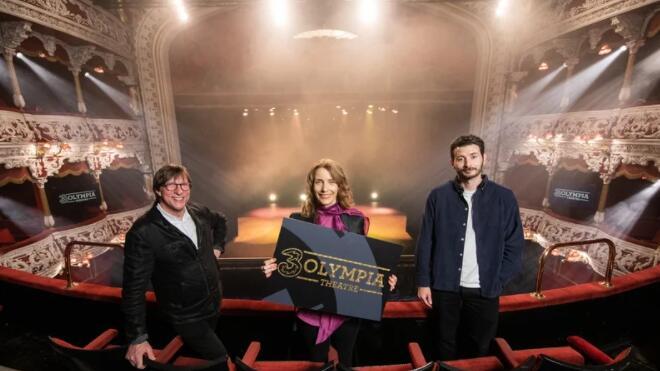 三爱尔兰奥林匹亚剧院的新主要赞助商
