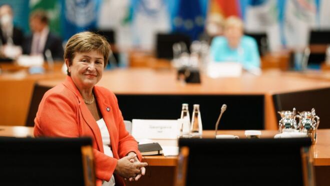 国际货币基金组织和世界银行的年会开始之际 理事会的决定正笼罩着格奥尔基耶娃